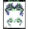 Airbrush Template-Queen-Anura